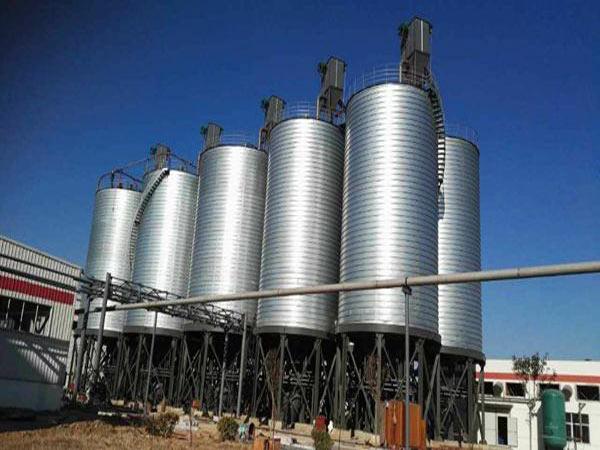 1000 T cement silo