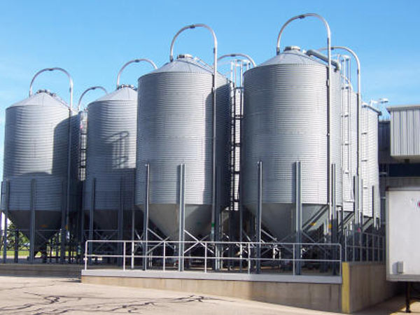 4000 T cement silo