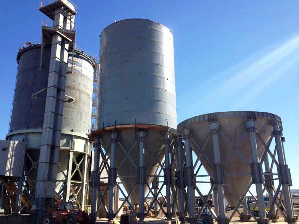 200 T cement silo