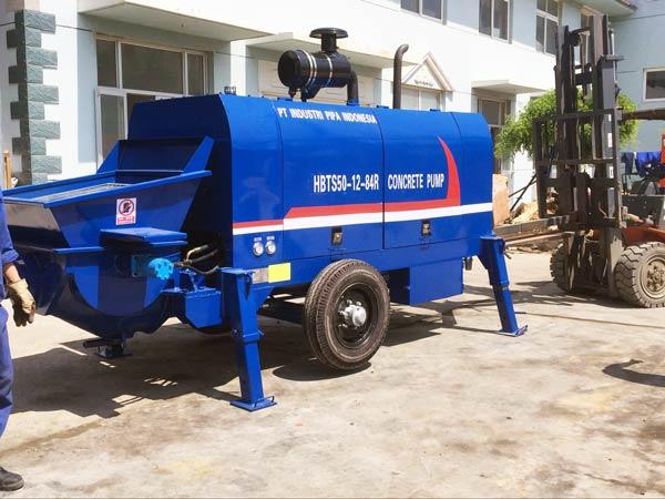 HBT50R diesel concrete pump