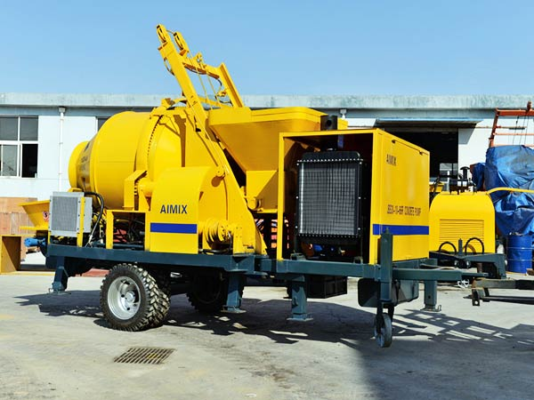 ABJZ30C concrete mixer pump