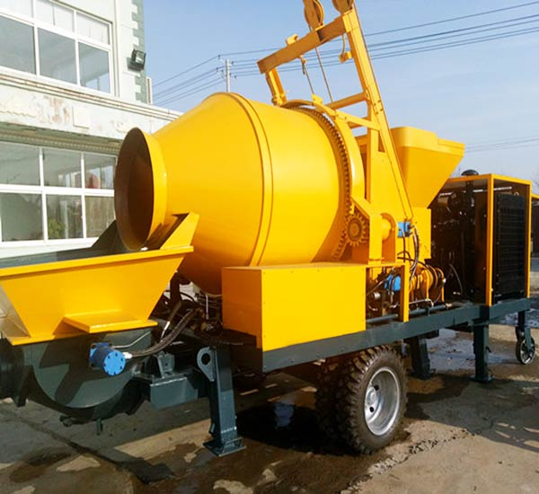 JS30 concrete mixer pump