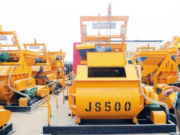 JS 500 mixer