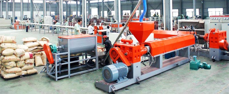 extrusion system of XPS production line