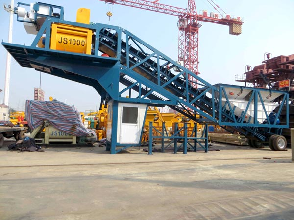mobile batching plant for sale