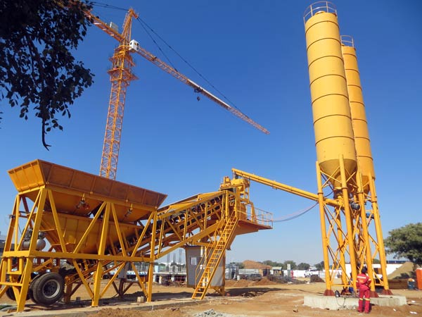 mini concrete plant for sale