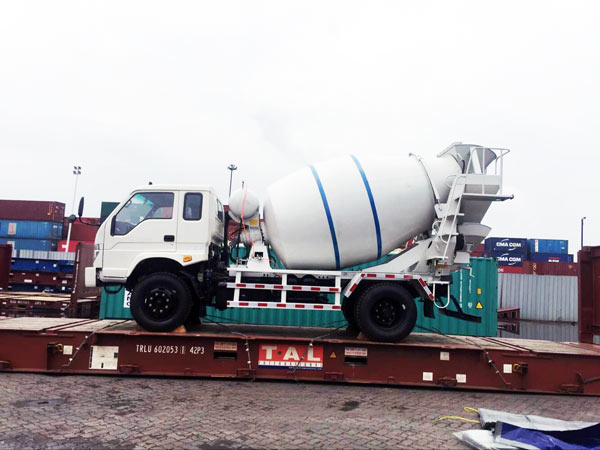 Concrete Mixer Truck Sent to Kenya