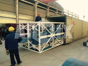 Exporting Concrete Plant to Russia