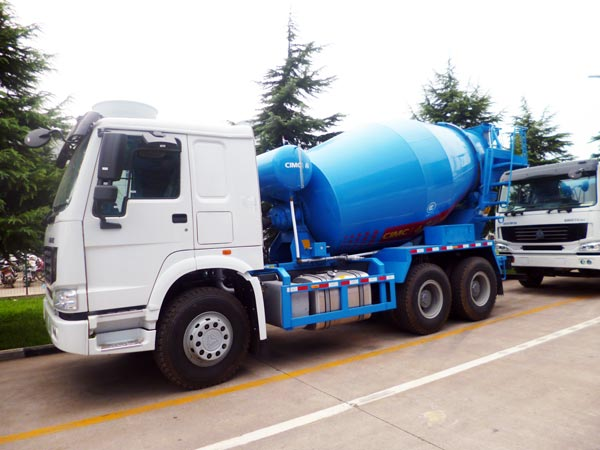 14m3 reliable mobile concrete mixer truck