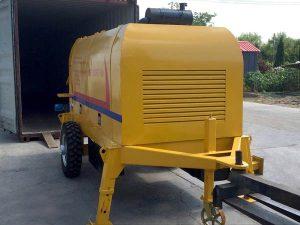 HBT20SR diesel concrete pump was sent to the Philippines