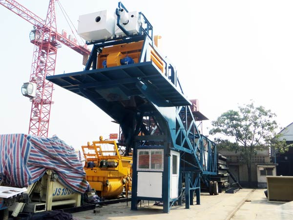 YHZS35 Ready Mix Concrete Plant