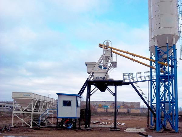 hopper type of concrete batching plant for sale