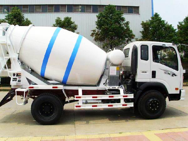 6m3 mobile concrete mixer truck for sale