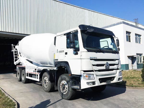 8m3 mobile mixer concrete truck