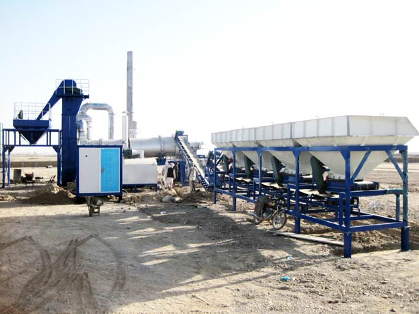 DHB60 mini asphalt drum plant