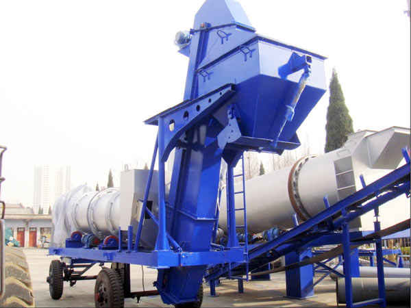 QLBY-15 mobile asphalt mixing plant