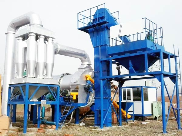 QLBY-60 mobile asphalt mixing plant