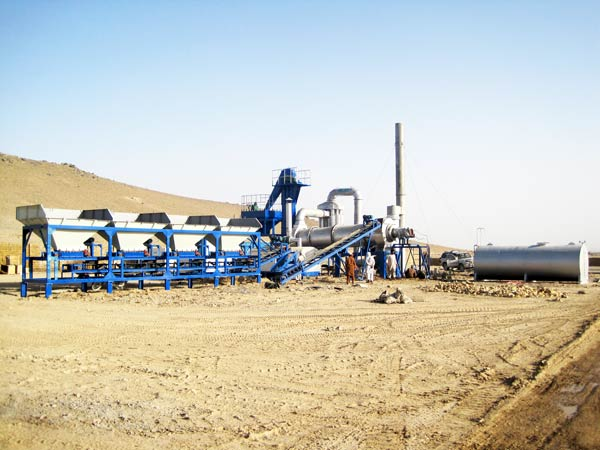 QLBY-80 mobile asphalt mixing plant