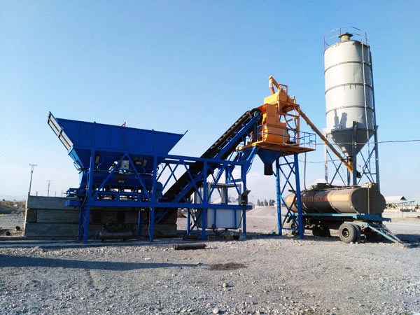 AJY 25 concrete batching plant