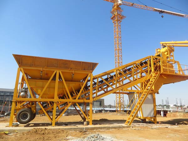 AJY 35 concrete batching plant
