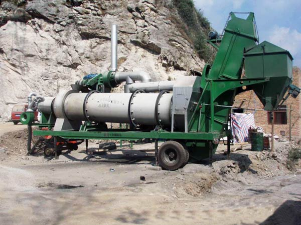asphalt drum batching plant