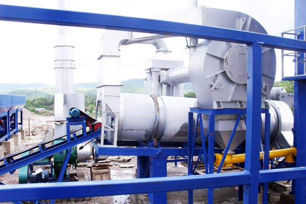dust collector of asphalt mixing plant