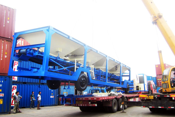 good mobility of mobile asphalt mixing plant