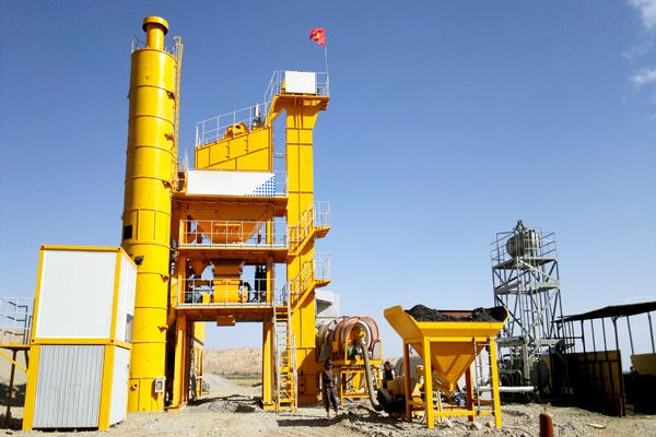 main body of asphalt plant