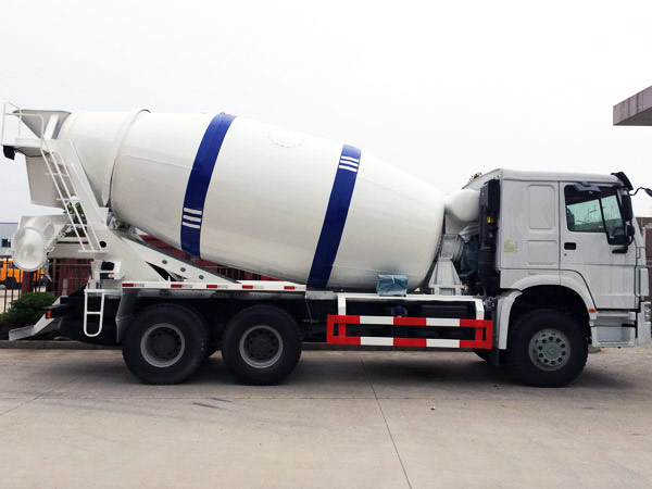 high-quality 10m3 mobile concrete mixer truck