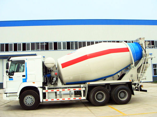 12m3 cheap mobile concrete mixer truck