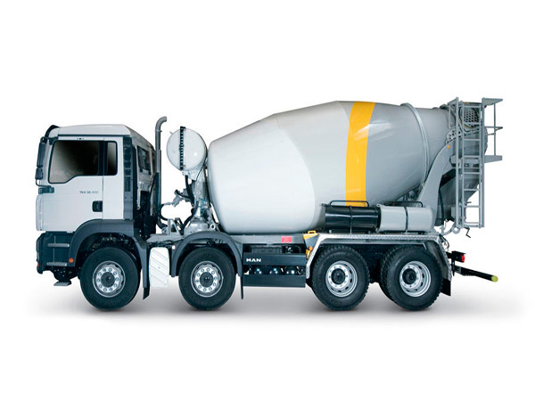 15m³ mobile concrete mixer truck