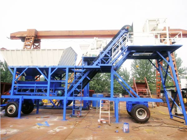 YHZS 35 portable batching plant