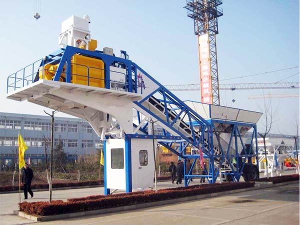 YHZS 50 portable batching plant
