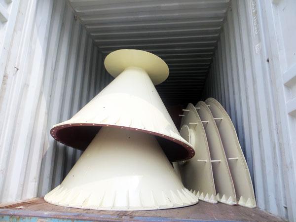 boxing cement silo