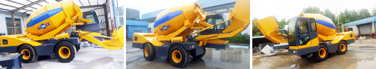 self loading mixer was ready to Philippines