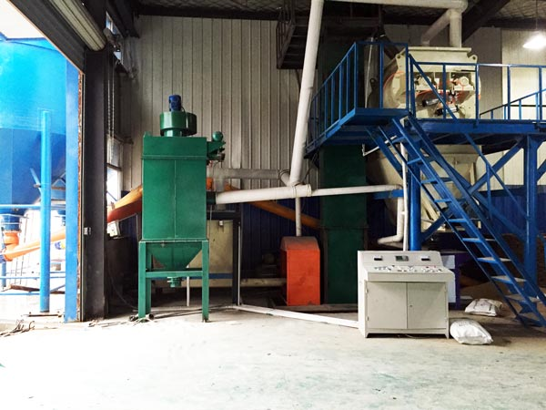 small mortar production line