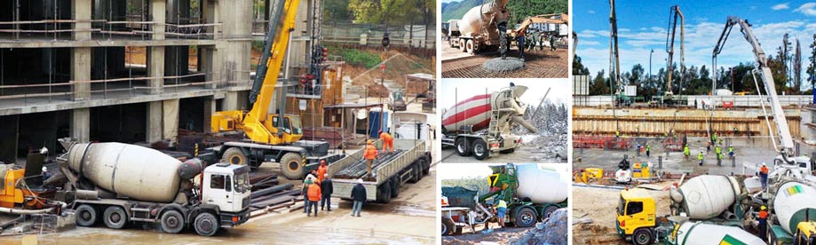 usage of mobile concrete mixer truck