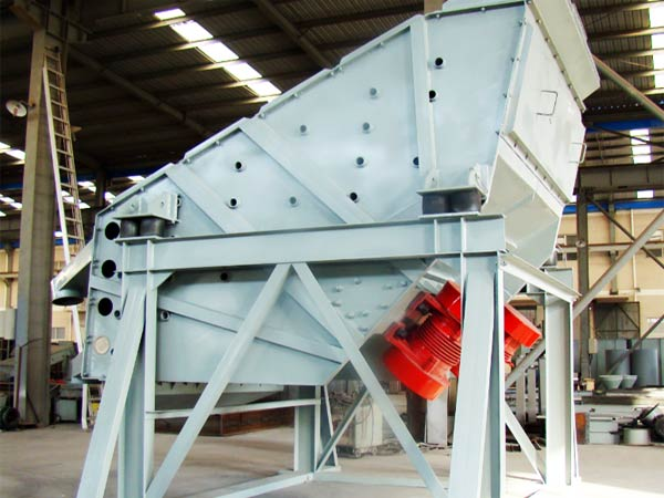 vibrating screen of dry mix mortar plant