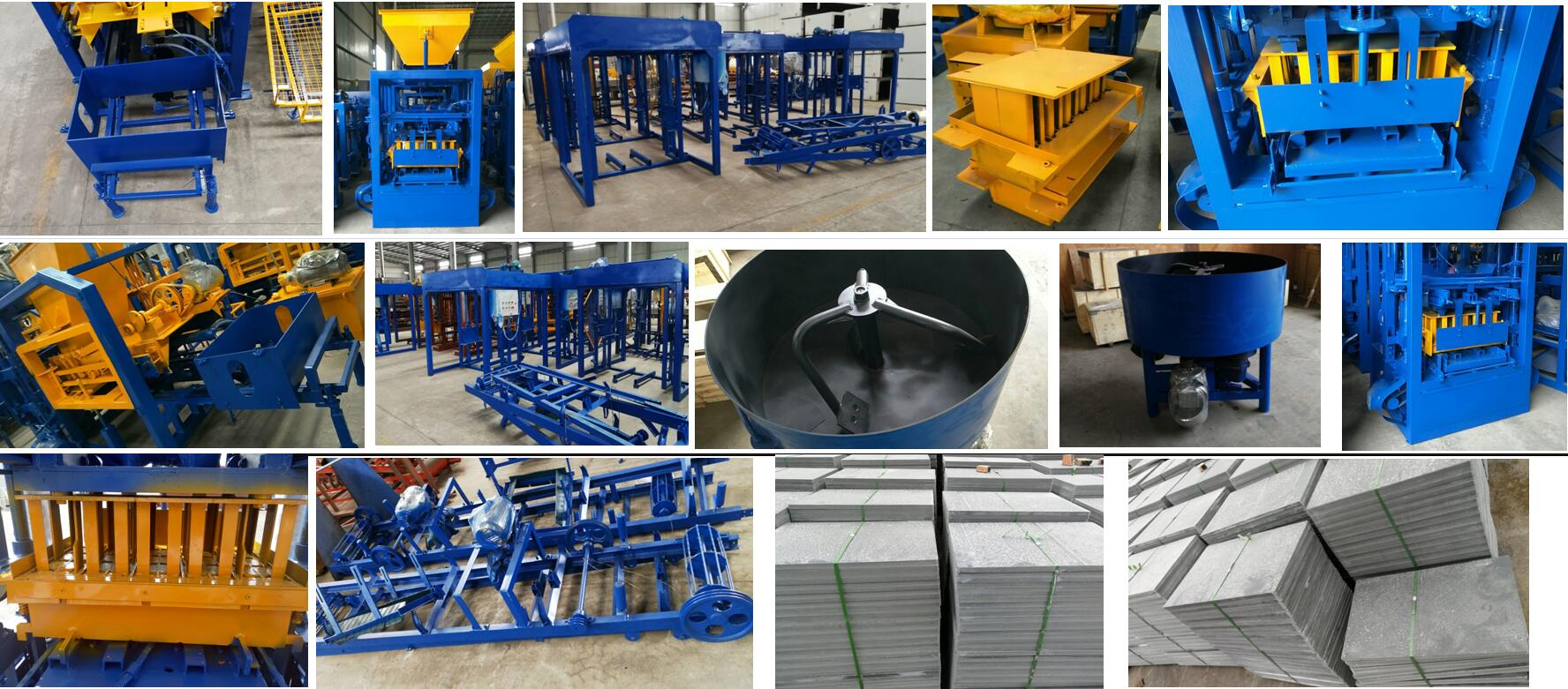 block making machine ready to South Africa