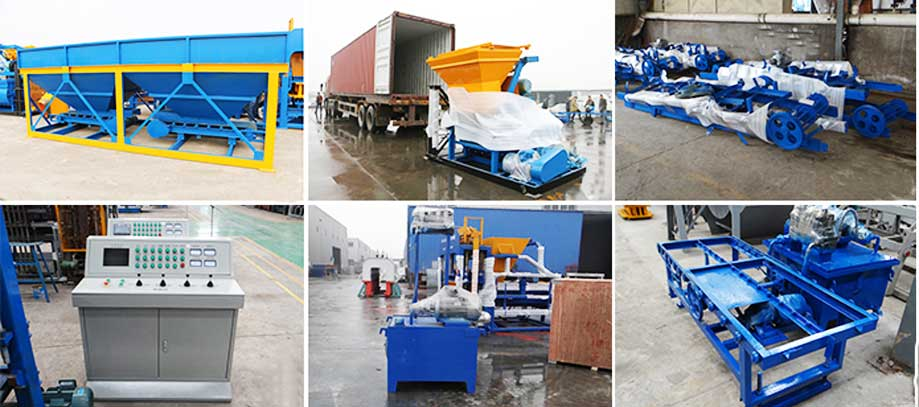 exporting Aimix concrete block machine to the USA