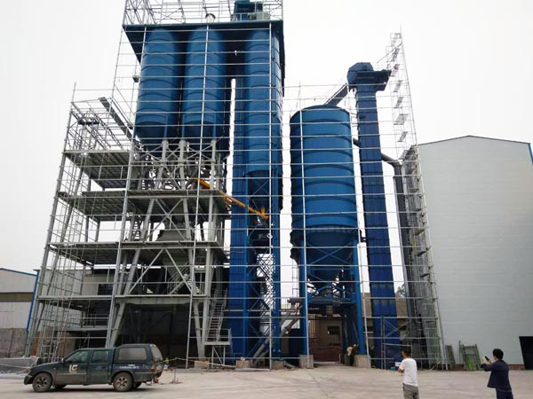 30t big dry mortar plant