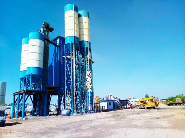 50t big mortar plant