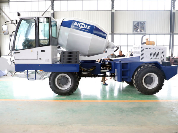AS-2.0 Self Loading Concrete Mixer