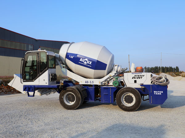 AS-3.5 Self Loader Concrete Mixer