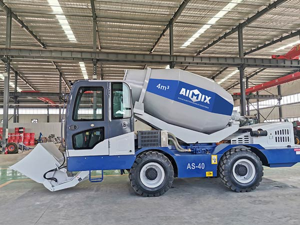 AS-4.0 Self Loading Mixer
