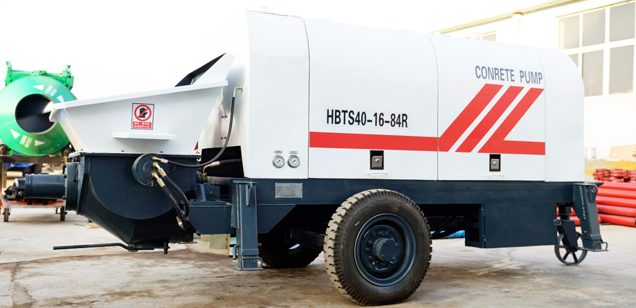 Aimix Hydraulic Concrete Pump