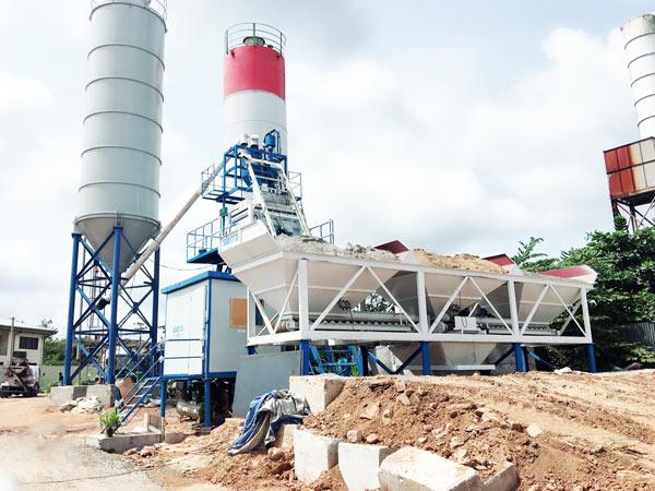 Aimix Concrete Plant in Sri Lanka