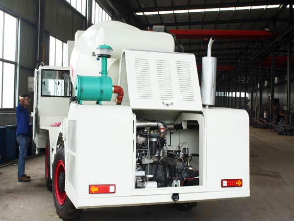 Checking self loading mixer after manufacturing