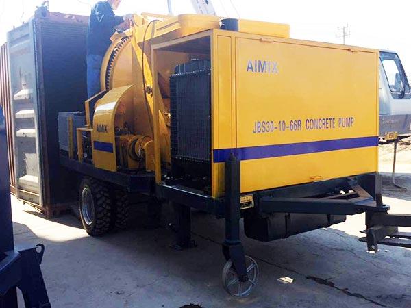 JB30R mini pump to Uzbekistan