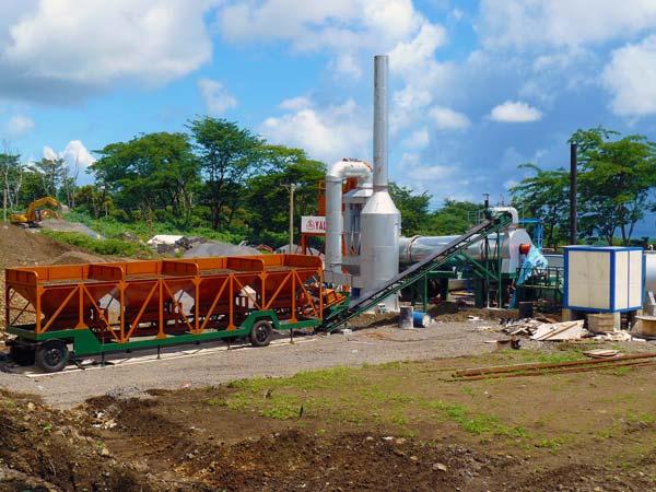 40t portable asphalt mixing plant
